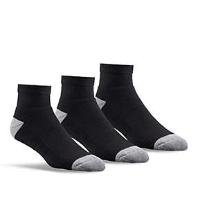Men's Athletic Cushioned Quarter Sock - 3 pack