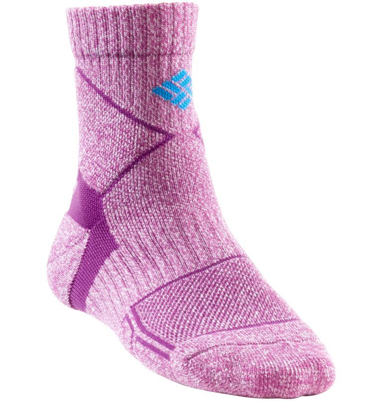Women's Trail Hiking Quarter Light Sock Women's Trail Hiking Quarter Light Sock, Vivid Viola, front