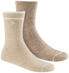 Women's Brushed Fleece Wool Socks - 2PR