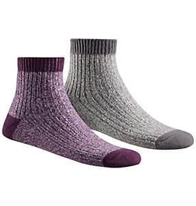 Women's Super Soft Rib Shortie Socks - 2PR