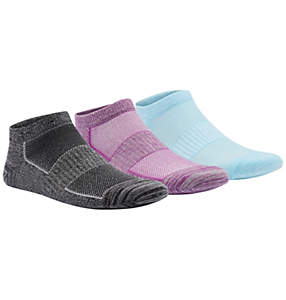 Women's Flat-Knit Marl Space-Dye Sock—3 pack