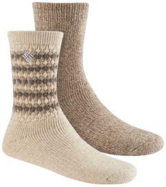 Women's Texture Wool Crew Sock