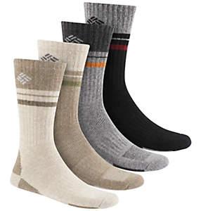 Men's Stripe Wool Crew Sock