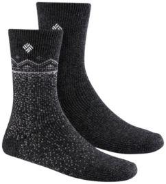 Women's Snowfall Wool Crew Socks - 2PR