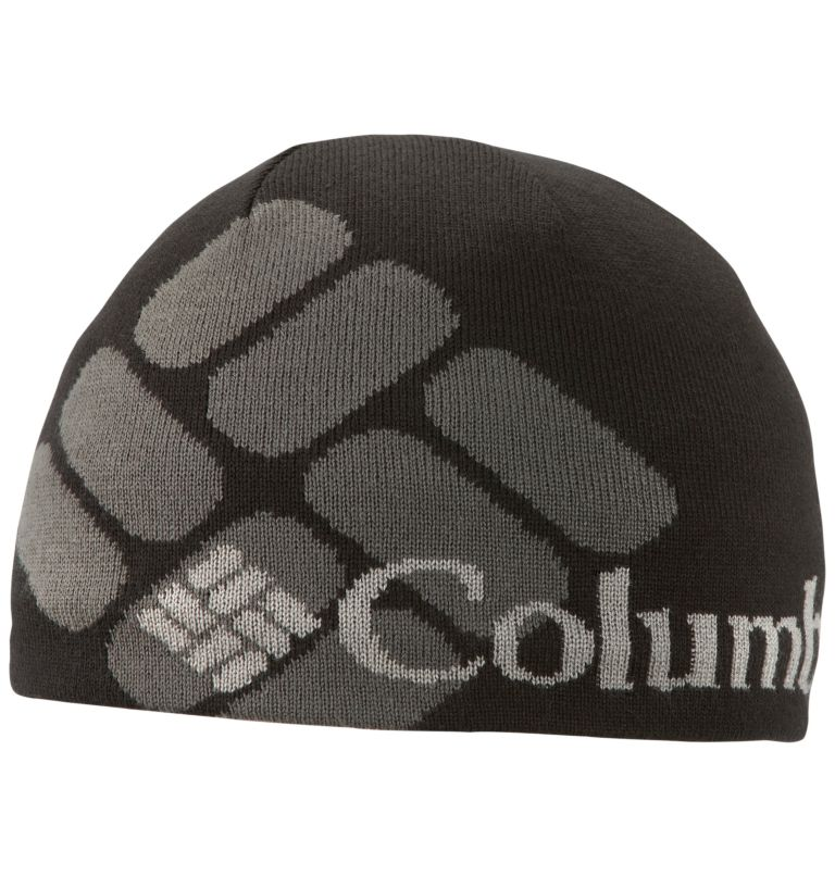 Columbia Heat™ Beanie | 013 | O/S Columbia Heat™ Beanie, Black, Pattern, front