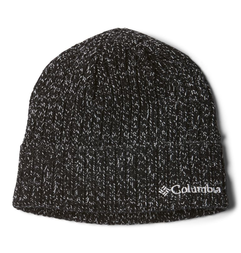 Columbia™ Watch Cap | 012 | O/S Columbia Watch Cap II Unisex, Black and White Marled, front
