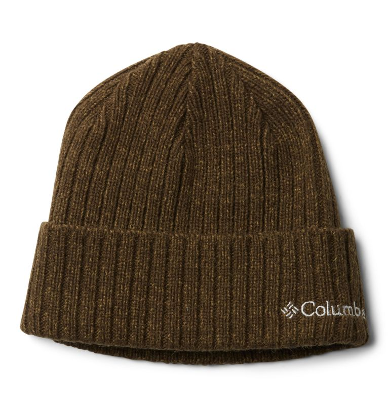 Columbia™ Watch Cap | 319 | O/S Columbia Watch Cap II, Olive Green, Olive Brown Marled, front
