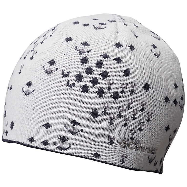 804e1bea93210 White Fractal Snow Unisex Urbanization Mix™ Reversible Beanie