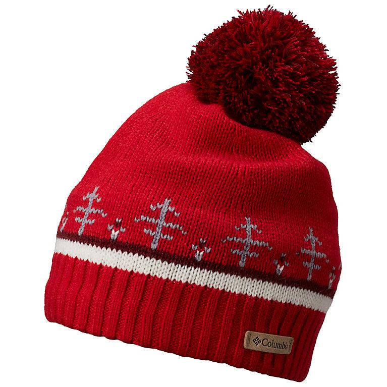 Red Mercury Tipping Trees Winter Blur™ Beanie dbe74349630