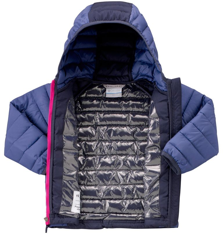 Toddlers' Powder Lite™ Hooded Jacket - Girls Toddlers' Powder Lite™ Hooded Jacket - Girls, a2
