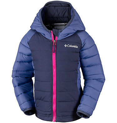 Veste À Capuche Powder Lite™ Fillette , front