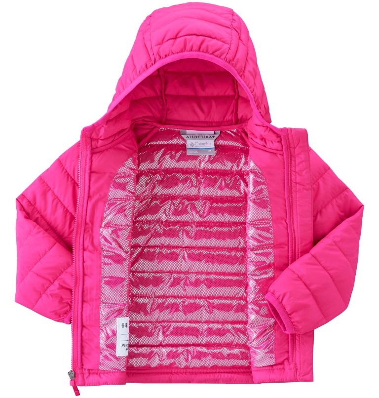 Toddlers' Powder Lite™ Hooded Jacket - Girls Toddlers' Powder Lite™ Hooded Jacket - Girls, a2