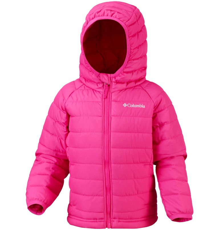 Toddlers' Powder Lite™ Hooded Jacket - Girls Toddlers' Powder Lite™ Hooded Jacket - Girls, front
