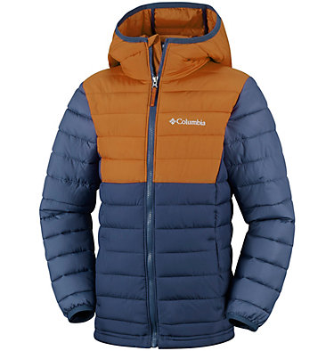 Boys' Powder Lite™ Hooded Jacket , front