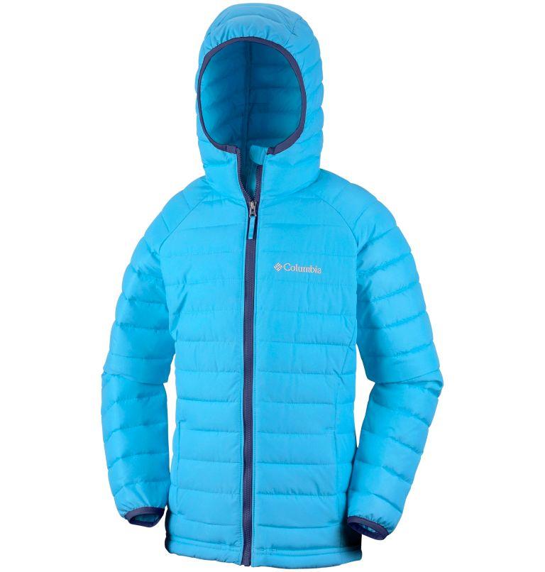 Girls' Powder Lite™ Hooded Jacket Girls' Powder Lite™ Hooded Jacket, a1