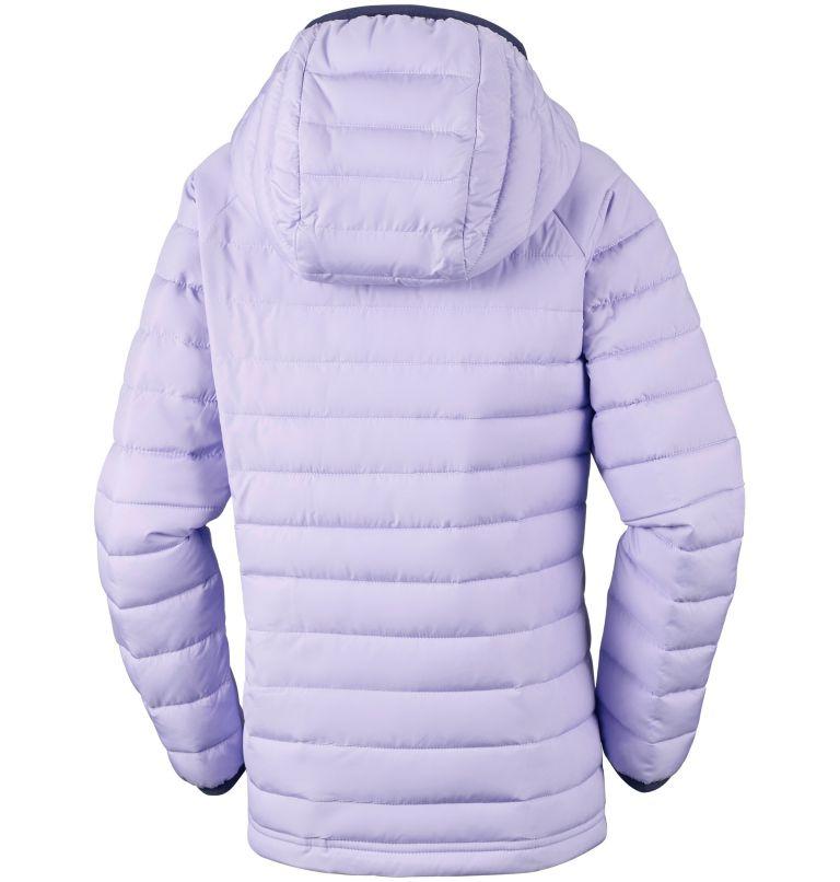 Girls' Powder Lite™ Hooded Jacket Girls' Powder Lite™ Hooded Jacket, back