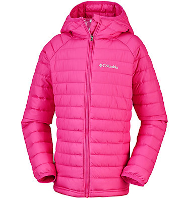 Girls' Powder Lite™ Hooded Jacket , front