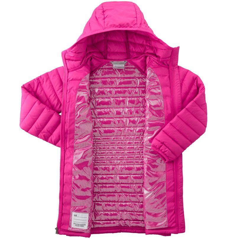 Girls' Long Hooded Powder Lite™ Jacket Girls' Long Hooded Powder Lite™ Jacket, a2