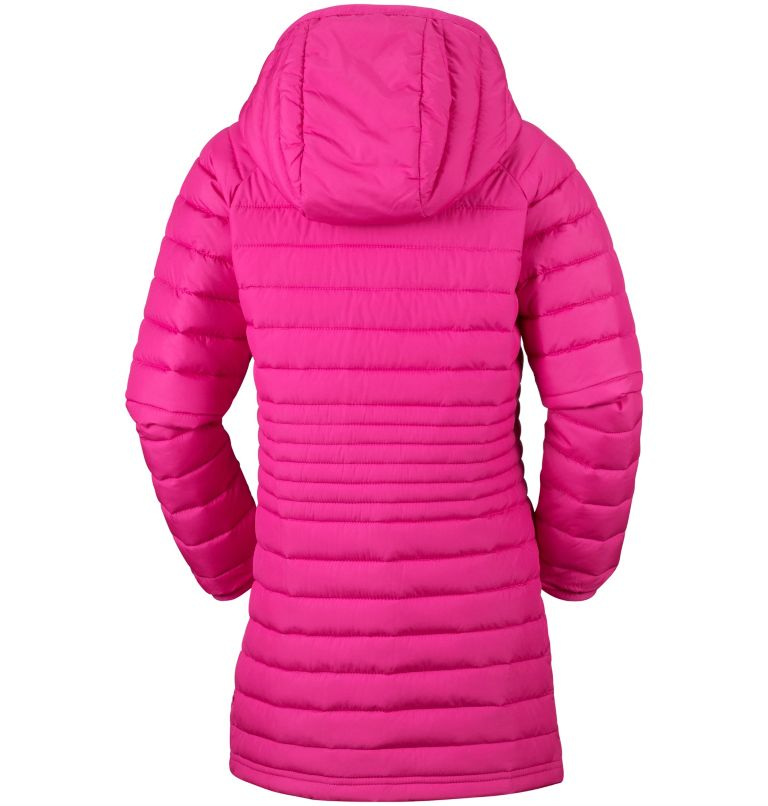 Veste Longue À Capuche Powder Lite™ Fille Veste Longue À Capuche Powder Lite™ Fille, back