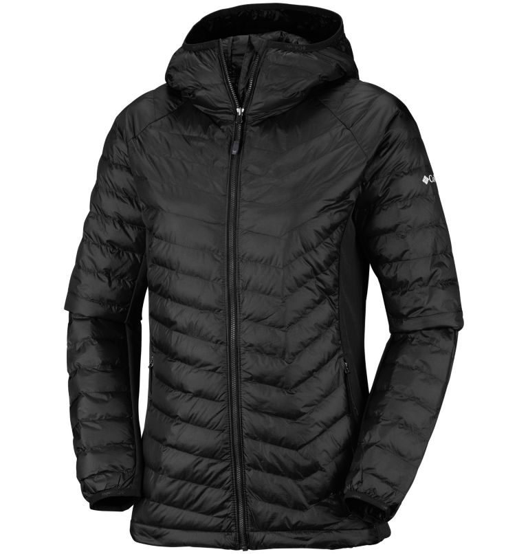 Women's Powder Lite™ Hybrid Hooded Jacket Women's Powder Lite™ Hybrid Hooded Jacket, front