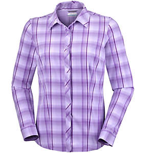 Women's Saturday Trail™ Stretch Long Sleeve Plaid Shirt