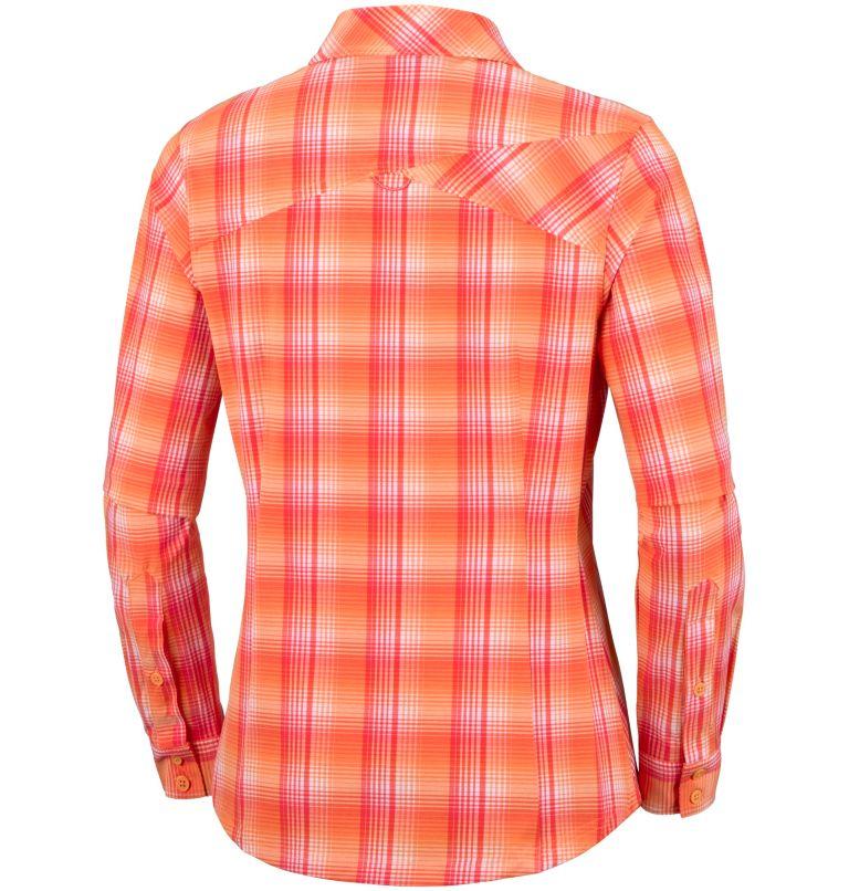 Women's Saturday Trail™ Stretch Long Sleeve Plaid Shirt Women's Saturday Trail™ Stretch Long Sleeve Plaid Shirt, back