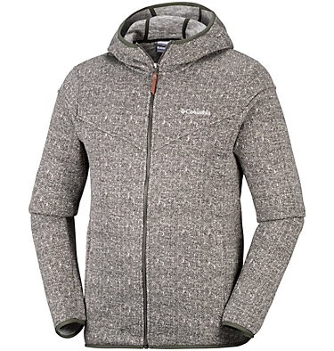 Men's Boubioz™ Hooded Full Zip Fleece , front