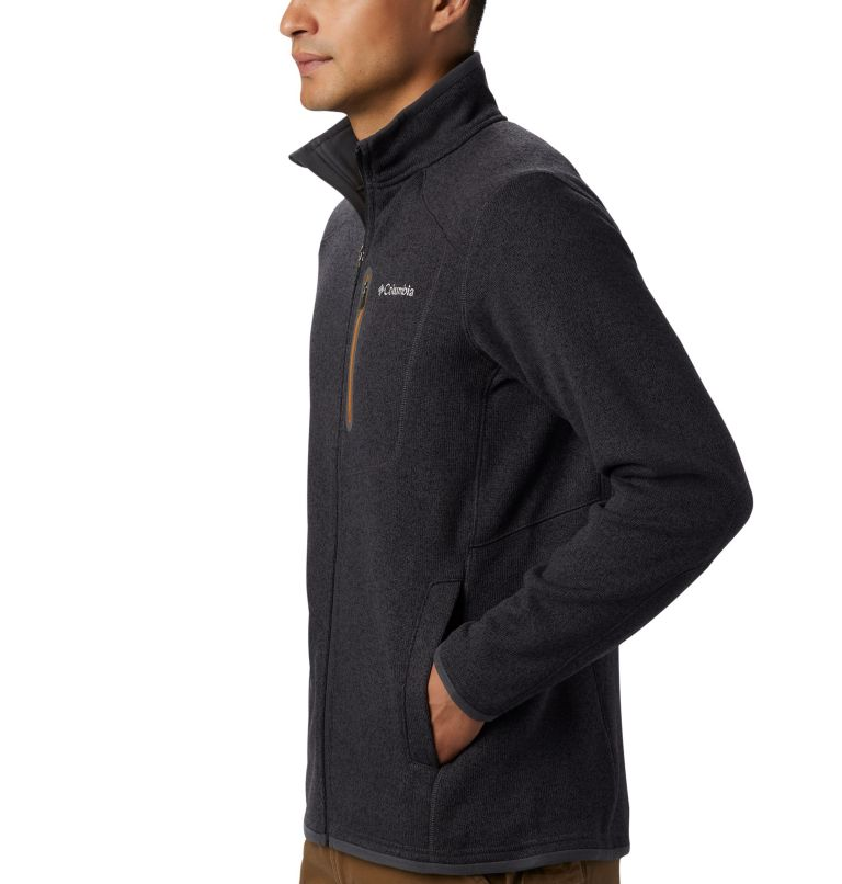Altitude Aspect™ FZ | 011 | L Men's Altitude Aspect™ Full Zip Fleece Jacket, Shark, Burnished Amber, a2
