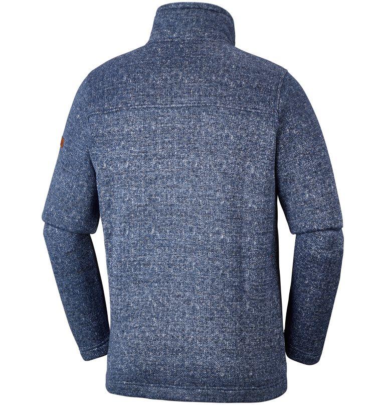 Fleece con cerniera Boubioz™ da uomo –Taglia Conformata Fleece con cerniera Boubioz™ da uomo –Taglia Conformata, back