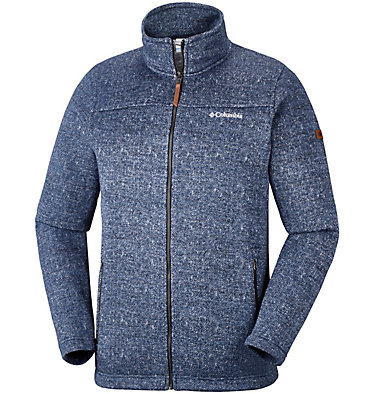 Men's Boubioz™ Full Zip Fleece - Plus Size , front