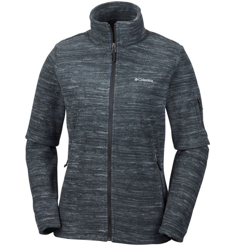 Women's Fast Trek™ Printed Jacket - Plus Size Women's Fast Trek™ Printed Jacket - Plus Size, front