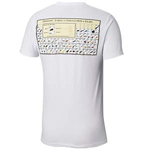 Men's PFG Periodic Chart Graphic Tee Shirt