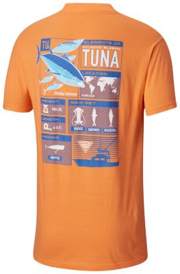 Men's PFG Bedrock Cotton Tee Shirt | Tuggl