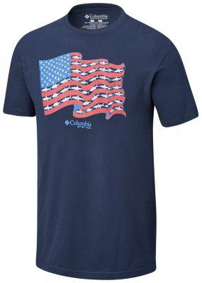 Men's PFG Delta Cotton Tee Shirt | Tuggl
