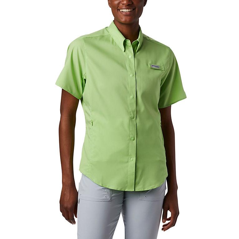 5a5c9d65c41 Jade Lime Women's PFG Tamiami™ II Short Sleeve Shirt, View 2