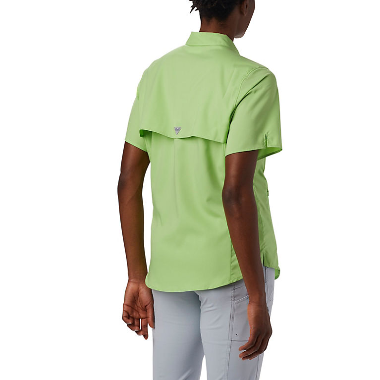 89da578dbc9 Jade Lime Women's PFG Tamiami™ II Short Sleeve Shirt, View 3