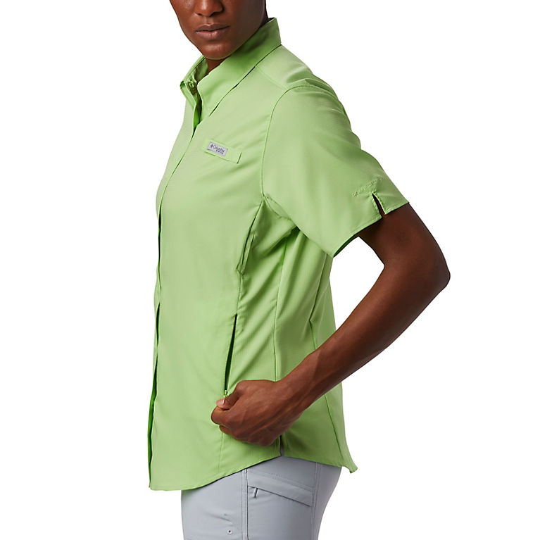 6461ceba543 Jade Lime Women's PFG Tamiami™ II Short Sleeve Shirt, View 6
