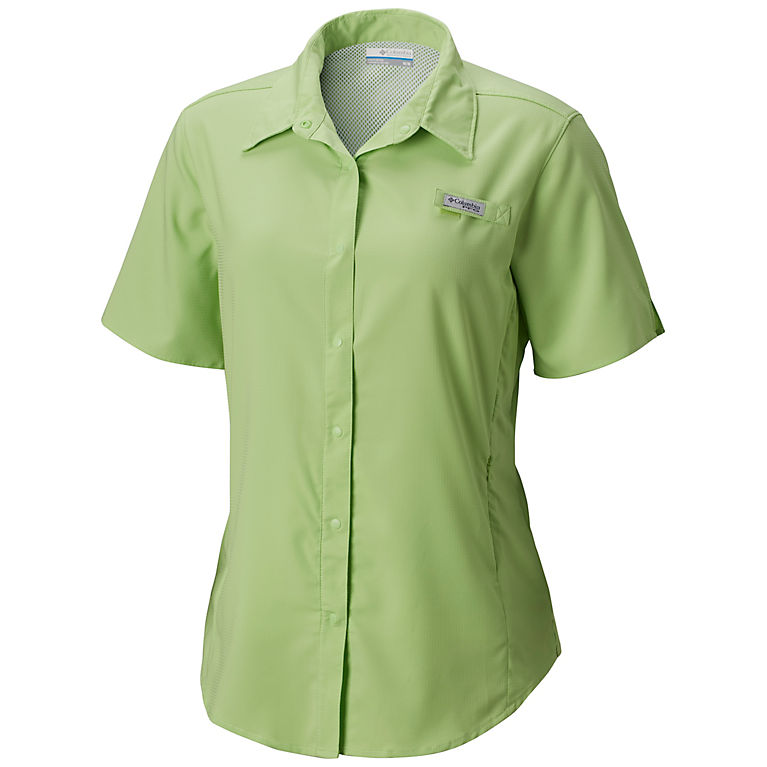 62e8a23a937 Jade Lime Women's PFG Tamiami™ II Short Sleeve Shirt, View 0