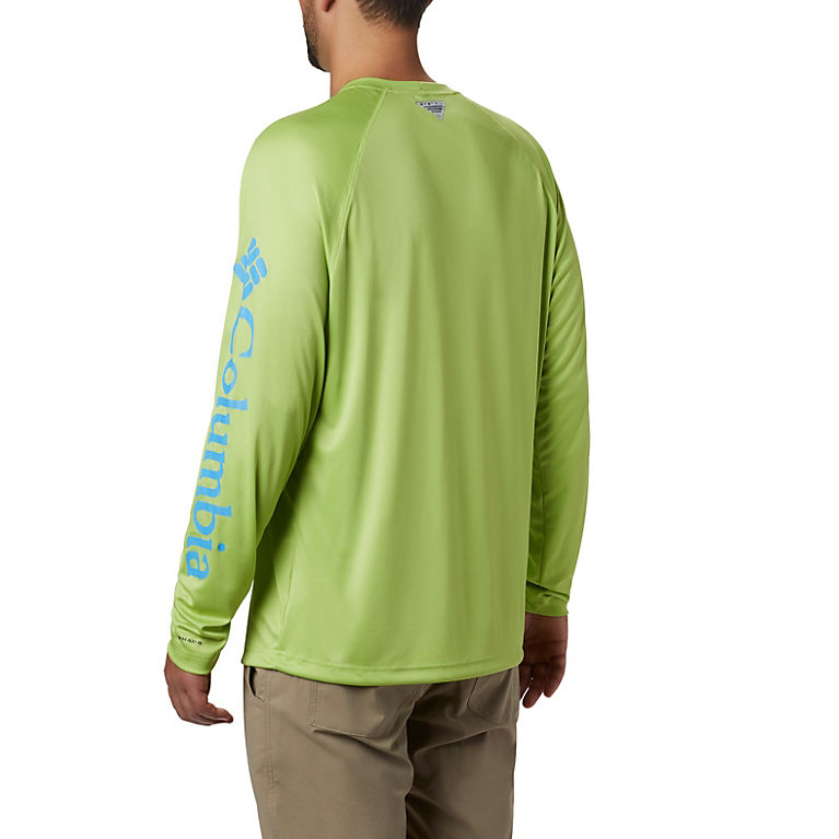 f32eaa1b20000a Green Glow, Yacht Logo Men's PFG Terminal Tackle™ Long Sleeve Shirt, View 1