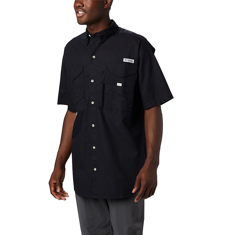 4a1c6c04ff2 Black Men's PFG Bonehead™ Short Sleeve Shirt, View 0