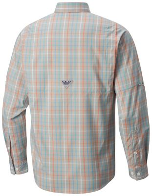 ... Men's PFG Super Tamiami™ Long Sleeve Shirt - Light Cloud Large Check -  1438941Men's PFG