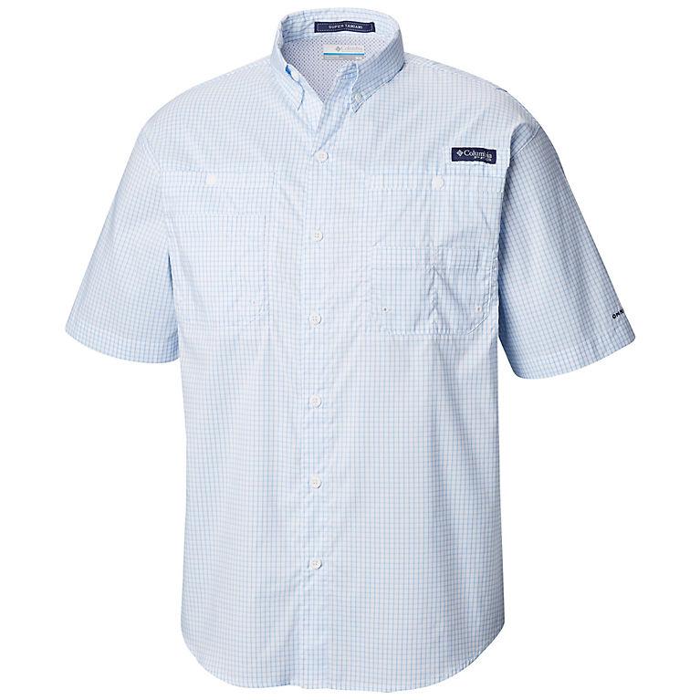 455f8f40 White Cap Mini Plaid Men's PFG Super Tamiami™ Short Sleeve Shirt, ...