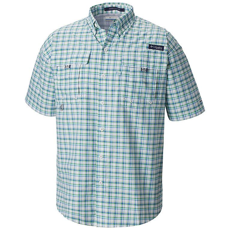 c88999f6 Gulf Stream Small Plaid Men's PFG Super Bahama™ Short Sleeve Shirt, ...