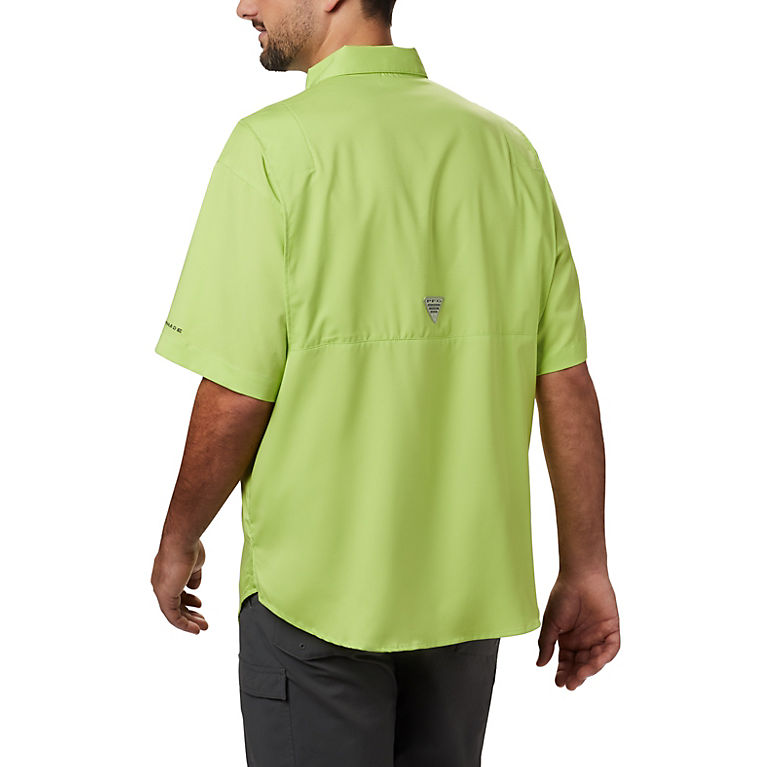 322b5f4c Green Glow Men's PFG Tamiami™ II Short Sleeve Shirt, View 1