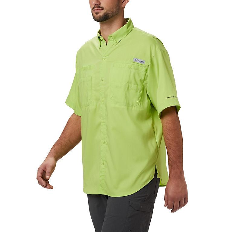 f2d751d007 Green Glow Men's PFG Tamiami™ II Short Sleeve Shirt, View 0