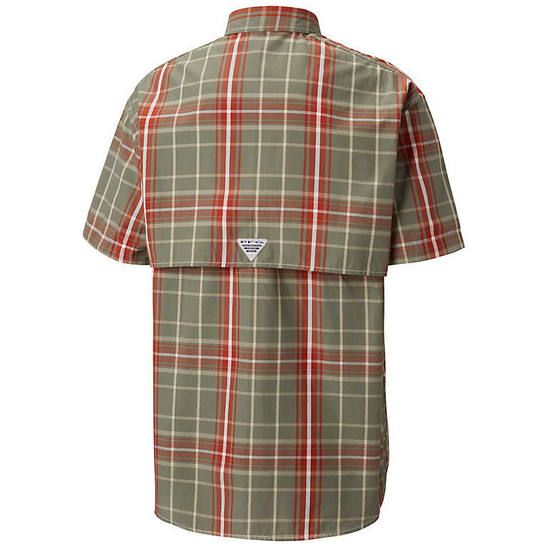 ebe886b8e98 Cypress Large Plaid Men's PFG Super Bonehead Classic™ Short Sleeve Shirt,  View 1