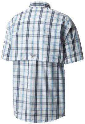 11d29228aed Men's PFG Super PFG Bonehead Classic Shorts Sleeve Shirt   Columbia