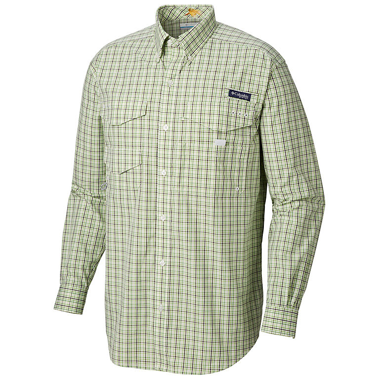 9053d9d00ba16f Spring Plaid Men's PFG Bonefish™ Long Sleeve Shirt, ...