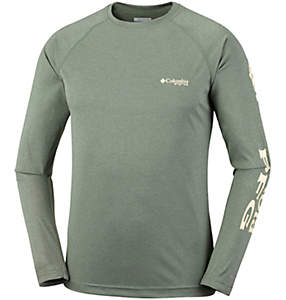 Camiseta de manga larga Terminal Tackle™ Heather hombre