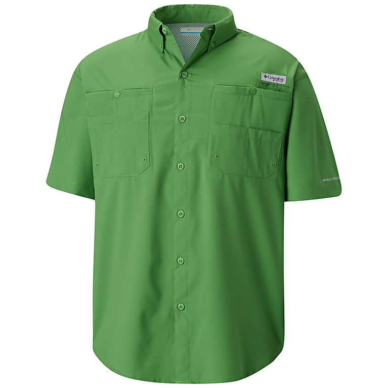 63f1143449f Clean Green Men s PFG Tamiami™ II Short Sleeve Shirt — Big